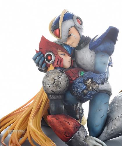 """机器人也相信眼泪,《洛克人X》漫画版名场景""""向着怀念的未来""""塑料小人化"""