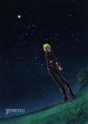 莱因哈特在草原上仰望星空,《银河英雄传说》新作动画版又有新进展