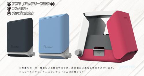 """富士看了沉默,玩家看了流泪,TAKARA TOMY新玩具printoss用物理手段""""打印""""手机照片拍立得"""