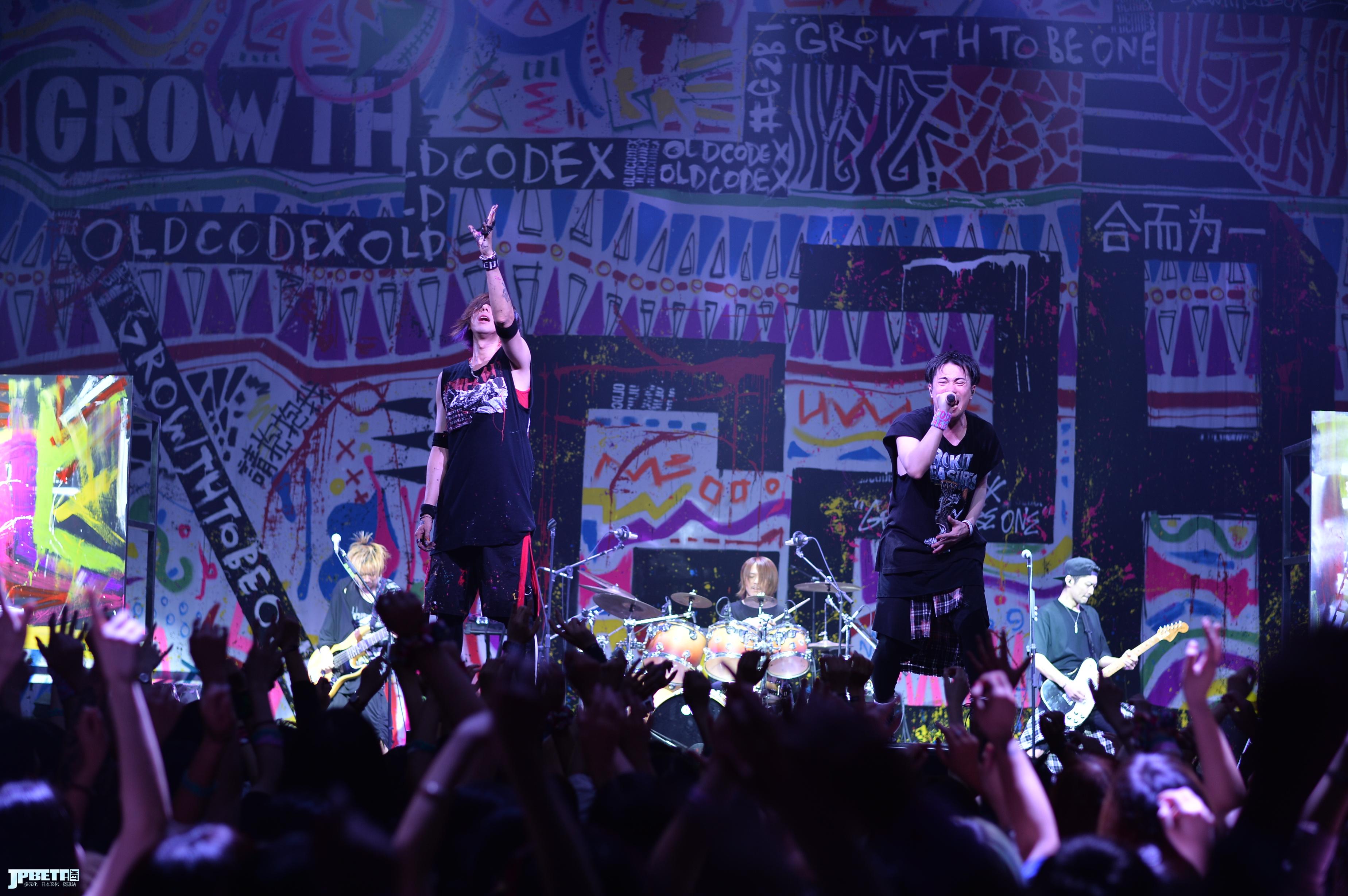 专访 | ROCK×LIVE PAINT= OLDCODEX视觉艺术奏响的摇滚魂