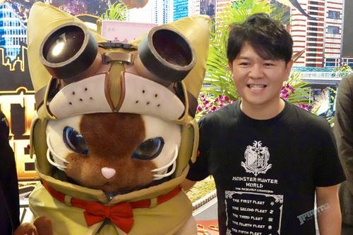 辻本良三都说好,上海怪物猎人展正式开幕