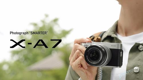 面向女生VLOG?!富士新無反X-A7 10月25日日本發售