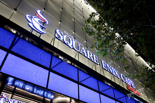 SQUARE ENIX CAFE Shanghai第二期主题确定?!中日三店铺同庆新版FF15发售