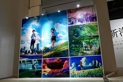 新海诚Fans必看!一次穿越六个世界!新海诚展上海站7月27日正式揭幕