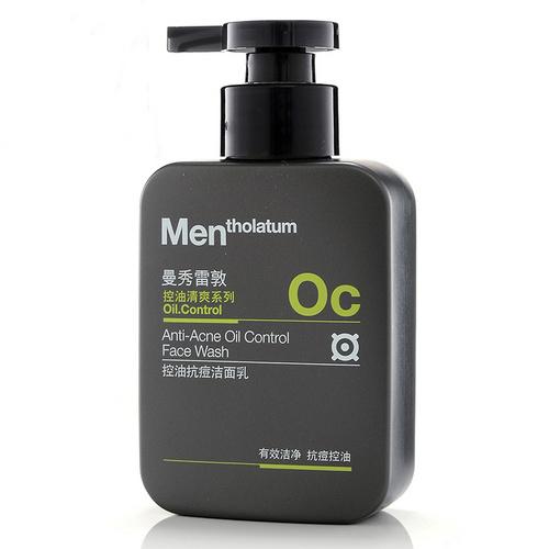 Mentholatum曼秀雷敦男士控油抗痘洁面乳150ml ¥29.9