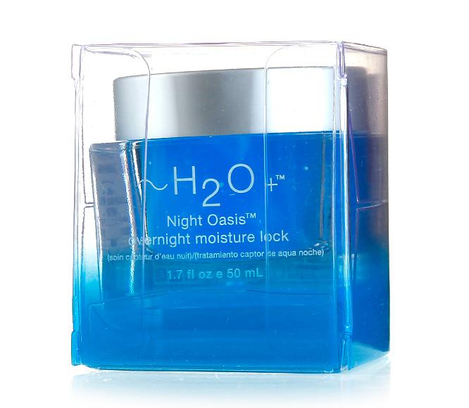 水芝澳~H2O 面部绿洲夜间密集补水面膜为全新专柜正装,有塑料外盒无塑封。