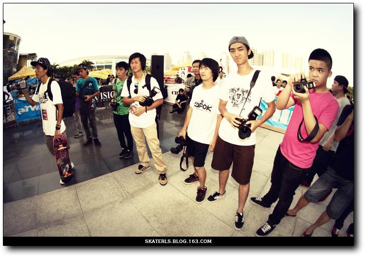 8.08 深圳全民滑板日 - 良少 冲浪 滑板 摄影 - Warm up