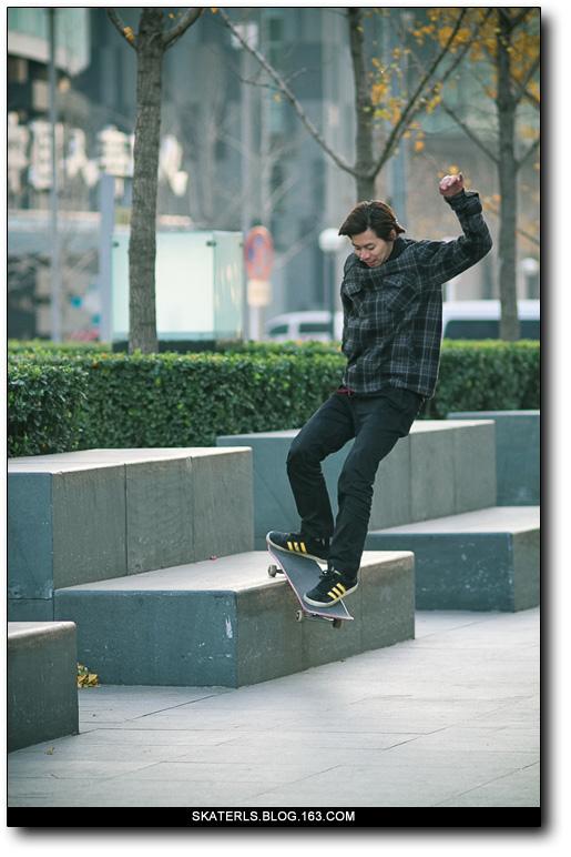路过北京 - 良少 冲浪 滑板 摄影 - Leongzhang