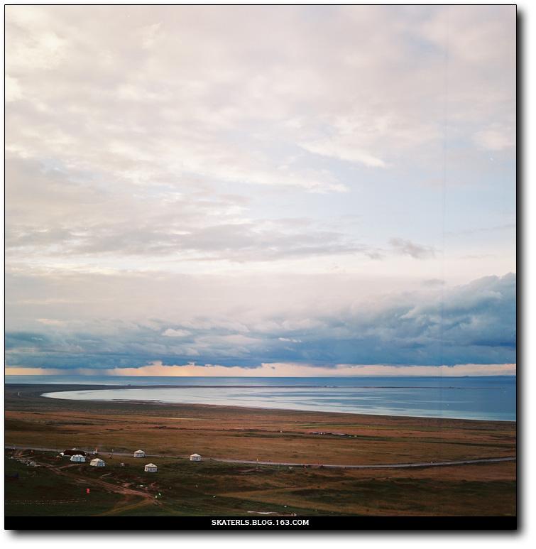 0.01青海湖 (胶片) - 良少 冲浪 滑板 摄影 -