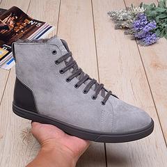 1008165中筒男款板鞋 灰色现货39-44码