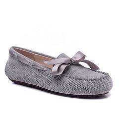 莽蛇纹无毛豆豆鞋1007575 灰色35-40码现货