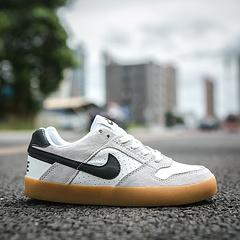 真标半码耐克NikeSBDeltaForceVULC耐克男女黑白低帮休闲滑板鞋9422371013644