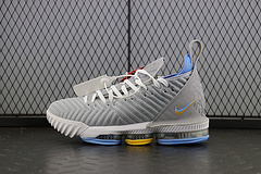 Nike Lebron XVI EP LBJ 詹姆斯16 高帮纤维丝气垫缓震实战篮球鞋CK4765-001