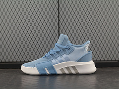AdidasEQTBaskADV针织面蓝色AC7353男女鞋