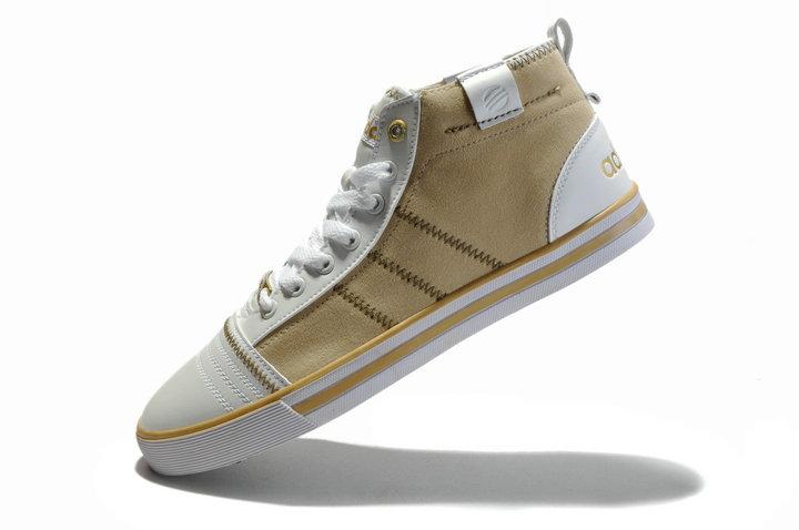 阿迪达斯 新款 时尚经典复古贝壳汉姆高帮潮鞋鞋一