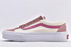 万斯/Vans Style 36 低帮滑板鞋/米白粉 杀人鲸 经典款 高端硫化 全新鞋款采用经典style 36小头鞋型 男女鞋 情侣款10 尺码:35-4410