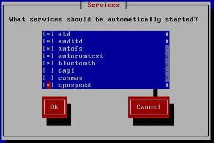 Linux系统服务优化