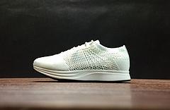 526628-100!Nike Flyknit Racer 'White'