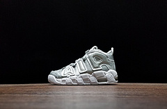 "917593-003!Nike Air More Uptempo""Liquid silver"""