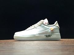 A04606-100!Virgil Abloh设计师独立品牌超级限量!Off White x Nike Air Force 1 !
