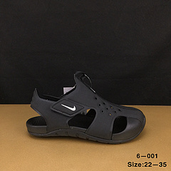 耐克NikeSunray新款儿童包头凉鞋官网11真标