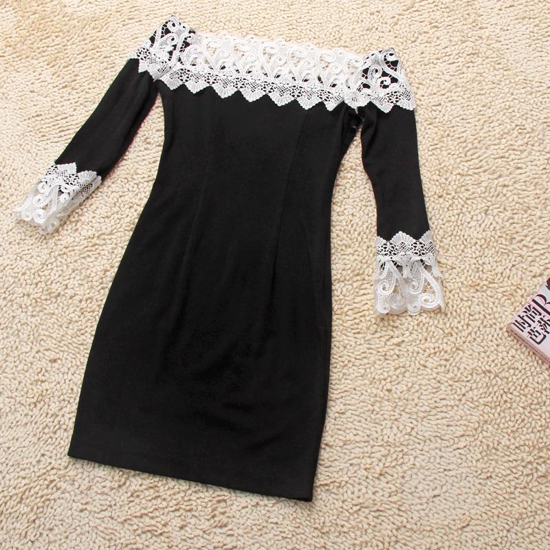 Черное платье своими рука