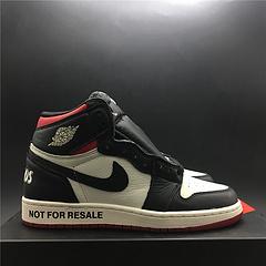 """女鞋!乔丹1代 Air Jordan 1 NRG """"No L's""""禁止专卖红 原装头层皮真标  货号:861428-106 号码36-39 出货28"""