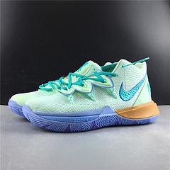 qq红包秒抢软件Nike Kyrie 5 欧文5代 章鱼哥 玉紫蓝铜色  桃红色 配色实战篮球鞋 真标 货号CJ6951-300号码36-45出货28