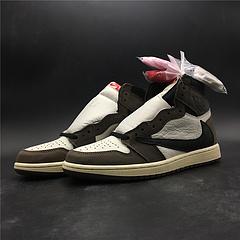 性价比!乔丹1代 Air Jordan 1 白古铜黑色 倒勾 限量版  原装头层皮真标!货号CD4487-100 号码40-47.5出货35