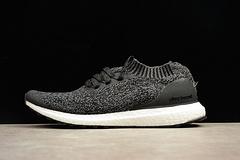 真爆阿迪达斯男子运动鞋 Adidas Ultra boost Uncaged 袜子运动跑步鞋BY2551 深灰 36-45