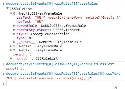 nzHy4 如何通过脚本修改CSS3动画的keyframe