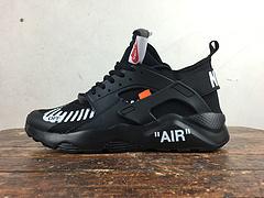 公司级 bet36是不是黑_英国bet36体育在线_bet36最新体育备用华莱士四代华莱士4代 定制款 Nike Air Huarache Ultra 联名 NIKE OFF WHITE AA3841-001 全黑 过虎扑论坛