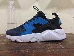 公司货 华莱士四4代 Nike Air Huarache Run Ultra 深蓝白 819685-401 过虎扑论坛
