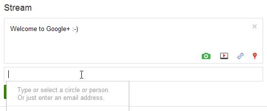 第二步: 在分享框里输入你朋友的邮箱