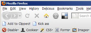 Firefox screenshort