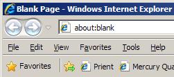 Internet Explorer Browser screenshort