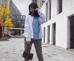 A9/L家 2019年春季最新款女士背包 单肩包  原版PVC面料配牛皮 简单百搭 美美哒  21 15