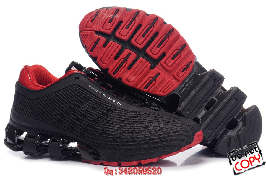 10年四月 最新上市 阿迪达斯 限量版 保时捷2代 黑红跑步鞋
