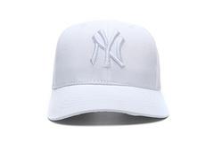 高品质MLB棒球帽NY帽子LA鸭舌帽全白