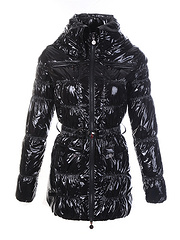 Moncler 羽绒服 女长款-黑色 号码(0 1 2 3 4 )
