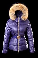 Moncler 羽绒服 女款 金腰带-紫色 号码(0 1 2 3 4 )