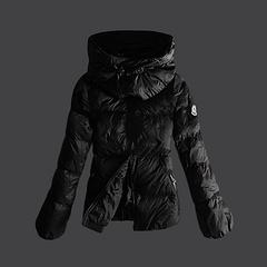 2012 新款  Moncler 羽绒服 女款 黑色 号码(0-4)