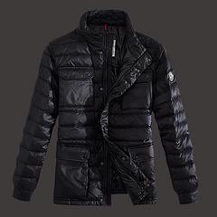 2013 Moncler羽绒服 男款 黑色(XS-XXXL)