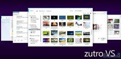 Win7主题:Zutro VS   ——  界面简约的 Metro风格