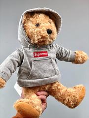 Supreme FW18 week18 Box Logo Hoodie Steiff Bear 泰迪小熊玩偶[表情] 我特别喜欢和期待的Supreme x steiff 小熊 发售仅16S