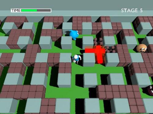重温童年时光:经典游戏炸弹人(Bombger Man)3D版 | 爱软客