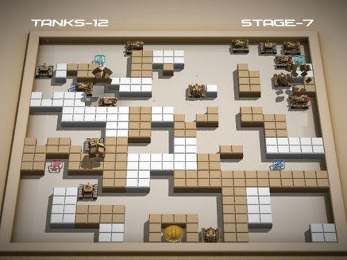 童年经典游戏:坦克大战3D版下载(支持双人) | 爱软客