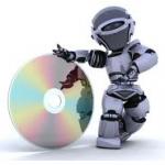光盘机器人
