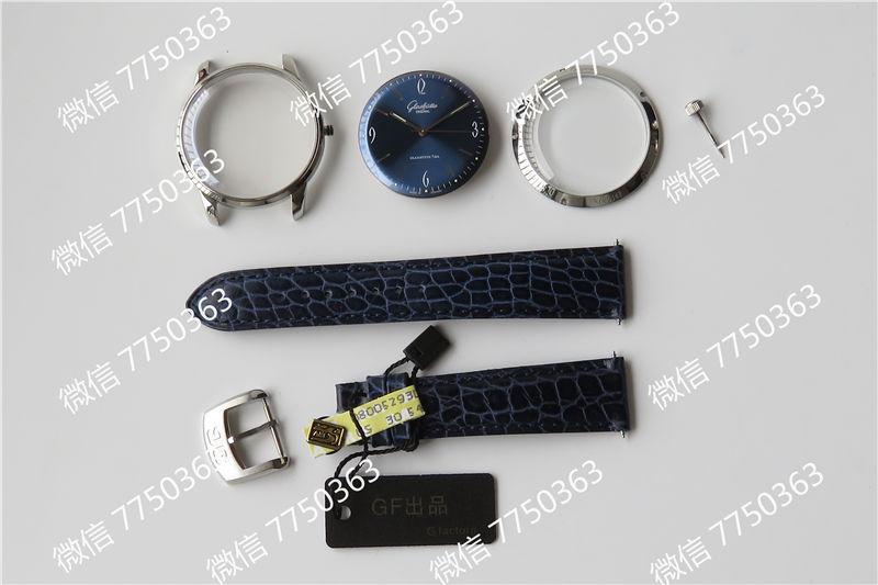 GF厂格拉苏蒂1960蓝色复刻表拆解测评-第13张