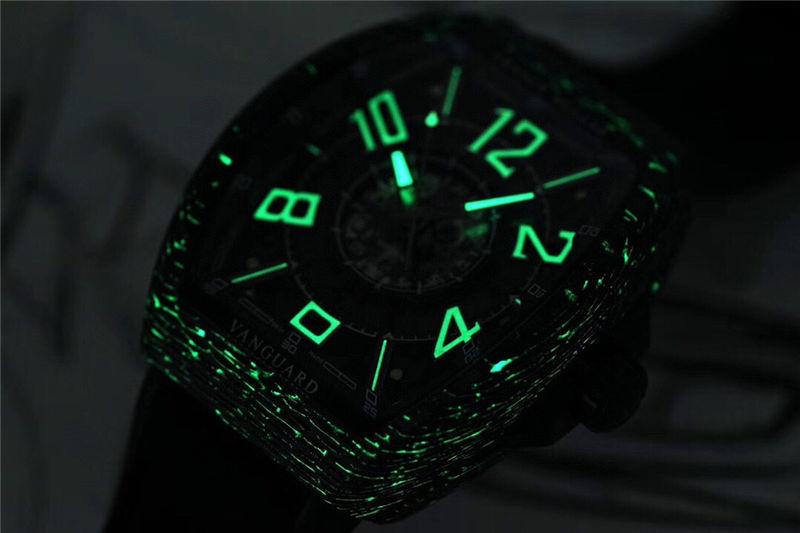 TW厂法穆兰Vanguard Racing镂空腕表做工品质如何_复刻表测评-第14张